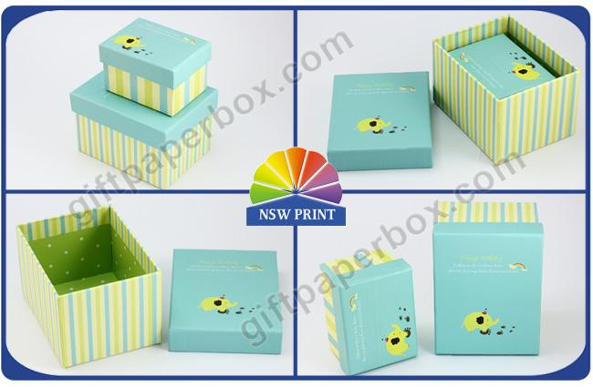 Handmade Paper Box Recycled Cardboard Packaging Box For Small Products and Gift