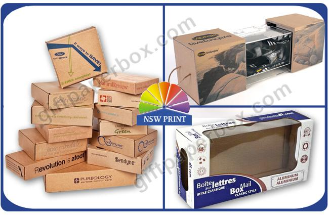 Kraft Paper Corrugated Packaging Box for Toys Packing ,  Eco Friendly Retail Packaging Boxes