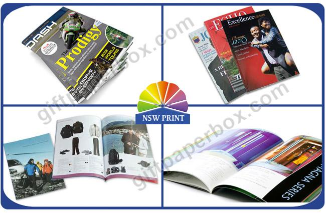 Full Color Custom Magazine Printing / Brochure Printing / Catalogue Printing Service