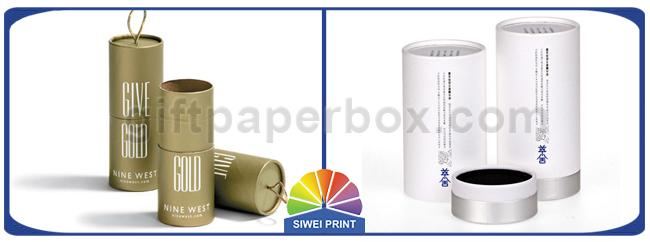 FSC Cylinder Paper Packaging Tube For Cosmetics Skin Care Products